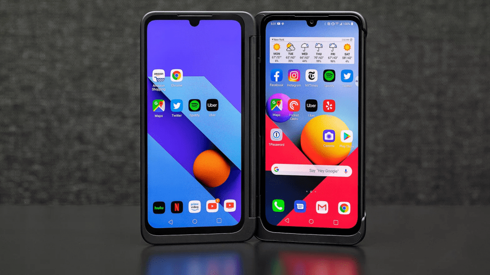 Обзор LG G8X Dual Screen: better than you ThinQ