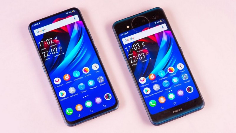 Vivo Nex Dual Display Edition экраны